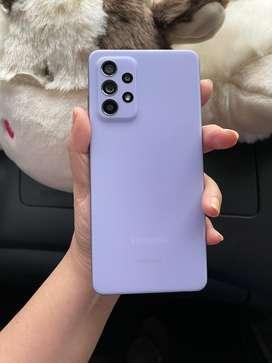 Samsung A52 8/128 Violet garansi resmi sein Mei 2022- second