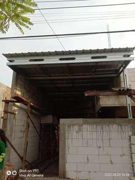 Pasang plafon atau kanopi