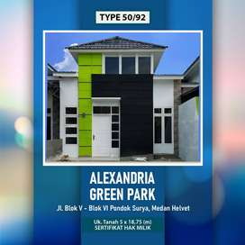 Jl.Blok VI – Blok V Pondok Surya GREEN PARK ALEXANDRIA