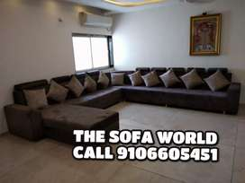 Brand New C Shape large size sofa available direct from factory unit