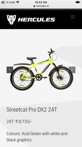 Streetcat Pro DX2 24T