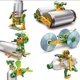 Mainan Barang Recycling Bertenaga Surya