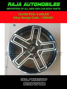 13 Inch Alloy 13RA001 Set of 4 pce
