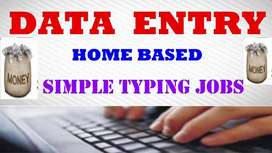 Data entry part time a good job computer and laptop is must