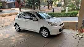 Nissan march 2013 bekas muluss pajak panjang 1th