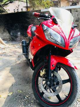 Yamaha R15 42000 KM RED v:1 with Anti Theft Locking System Installed