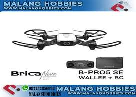 Brica B-PRO5 Wallee Drone + Remote + Hardcase - Malang Hobbies Store