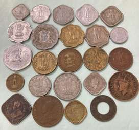 24 different coins