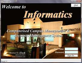 College Software Management Information System