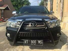 Toyota Fortuner 2.7 Bensin Matic Tahun 2009 Pemakaian 2010