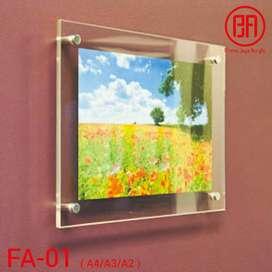 frame akrilik A3