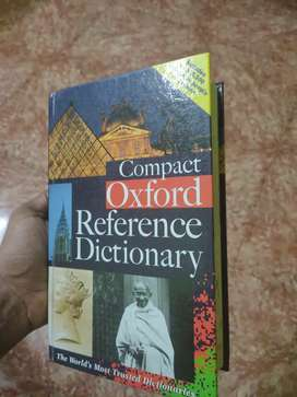 Compact oxford reference dictionary ( hard cover )