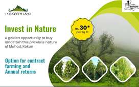100% ROI,agriculture Land,Get the  Mahad in lowest price 0ffer