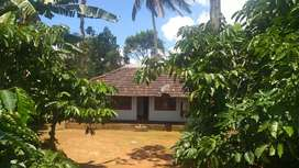 1. 70 acre land  with  house near Vaduvanchal