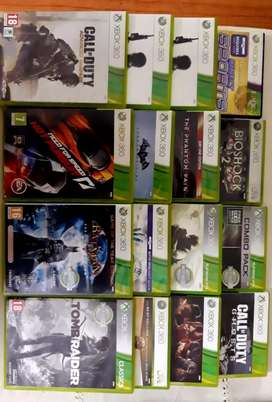 X BOX 360 GAME ORIGINAL CDs