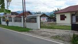 rumah dan tanah luas di tengah kota. cocok utk kantor dan usaha