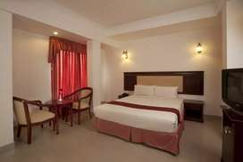 Luxury ac hotel rooms restaurant for sale near medical trust mg road