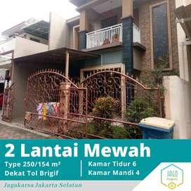 Dijual Cepat Rumah 2 Lantai Siap Huni Dekat Tol Brigif Di Jagakarsa