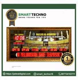 Jam Digital Masjid Mewah  Type Gold