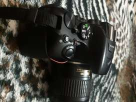 Nikon d5600 just like new with bag and box