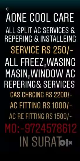 Ac service and repering