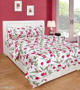 Microfiber bedsheet Printed bedsheet| Cash on delivery | Free delivery