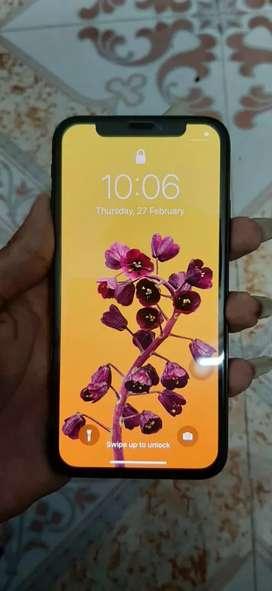 I Phone X Black