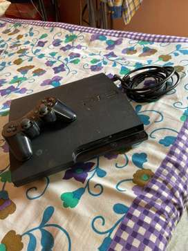 Ps3 with 15 to 20 games and wireless controler
