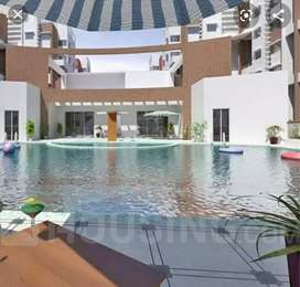Garden facing 2BHK with car parking and all amenities of luxury