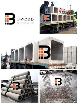 Pabrik paving, buis, kanstin, grass block dan boxculvert ( nego)