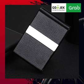 TERLARIS KOTAK BUNGKUS RROKOKOKK - FOCUS Elegan Leather Cigarette Case