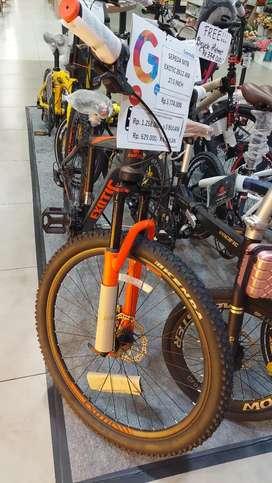 """Sepeda MTB exotic 2612 AM 27.5"""" bisa kredit pakai home credit"""