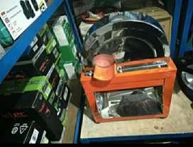 Mesin perajang singkong portable,pakai dinamo watt kecil