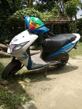 Honda dio modified scooty