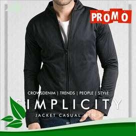Jaket Simply Fleece Black Style