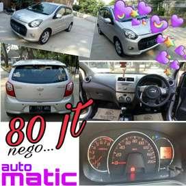 Dijual BU Daihatsu Ayla 998cc Silver Metalik