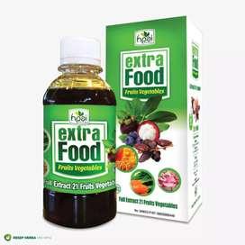 Extra food suplemen makanan Herbal