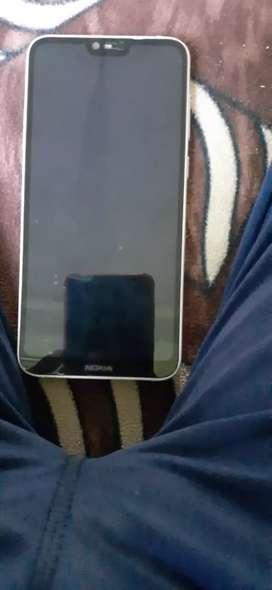Nokia 6.1 plus 6gb ram 64gb storage