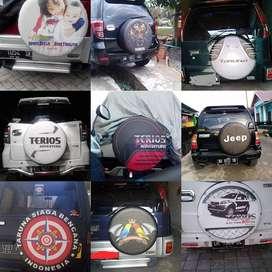 Cover/Sarung Ban Daihatsu Terios/Rush/Vitara/Rocky Sendiri Kualitas 3D