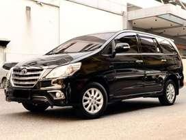 [DP 15jt] Toyota Kijang Innova 2.0 V AT Bensin 2014 Hitam [autowhiz]