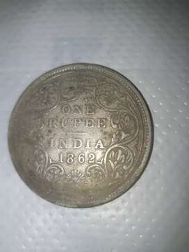 OLD ANTIQUE SILVER COIN