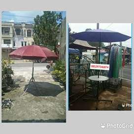 Jual tenda payung kafe dan kaki meja (bs antr dimedan)