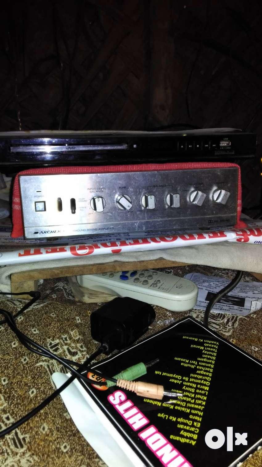 Aarcher4 channel Amplifier with JBL speakers 0