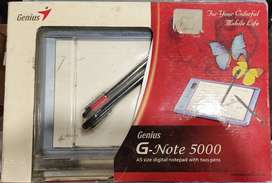 Genius G-Note 5000 USB A5 size digital notepad with two