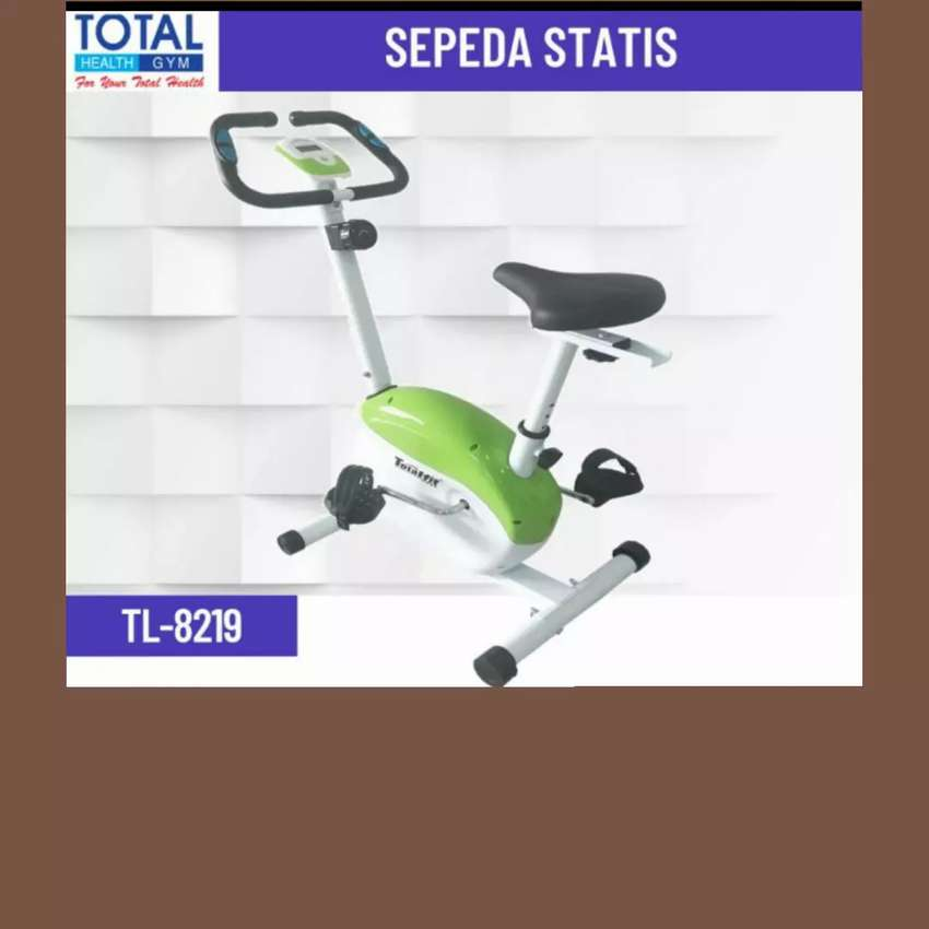 jual sepeda statis bike magnetic TL-8219 FW-26 alat fitnes//treadmil//