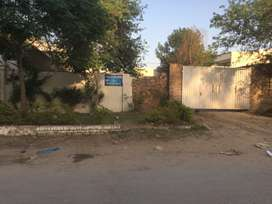 12 Marla plot for sale in civil line main road facing muzfargard road