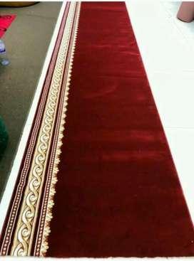 Jual karpet masjid empuk tipe.royal premium warna merah