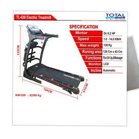 Treadmill Elektrik Merk Total 630 // BG Homeshopping