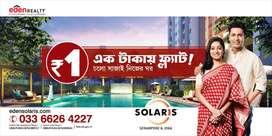 Studio Apartment for Sale in Solaris City at Serampore, Howrah