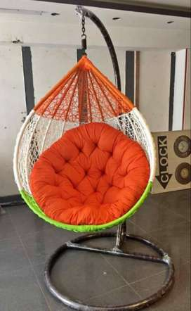 Swing chair for enjoy your winter evening